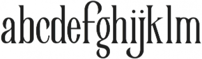 Victorian Parlor King otf (400) Font LOWERCASE