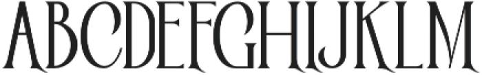 Victorian Parlor Regular otf (400) Font UPPERCASE