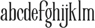 Victorian Parlor Regular otf (400) Font LOWERCASE