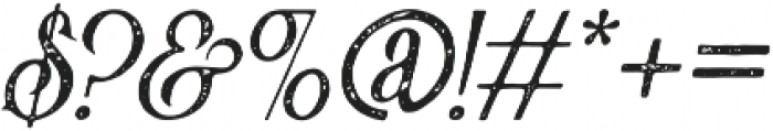Victorian Parlor Vintage Italic otf (400) Font OTHER CHARS