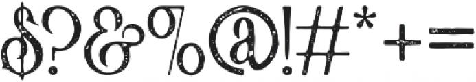 Victorian Parlor Vintage otf (400) Font OTHER CHARS