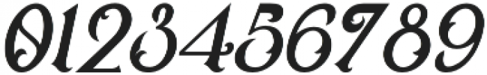 Victoriandeco Italic otf (400) Font OTHER CHARS