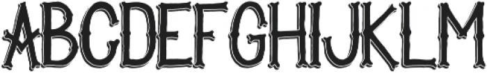 Victory & Glory TP  Regular Shadow otf (400) Font LOWERCASE