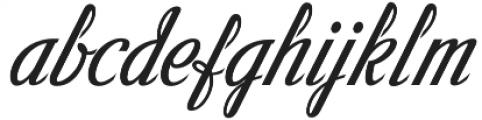 Victory Script Victory Script otf (400) Font LOWERCASE
