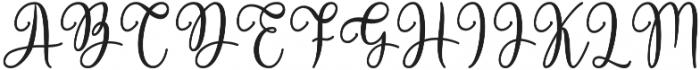 Victory otf (400) Font UPPERCASE