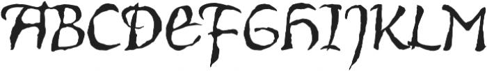 Vidok FY otf (400) Font UPPERCASE