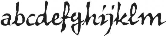 Vidok FY otf (400) Font LOWERCASE