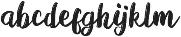 Viera otf (400) Font LOWERCASE