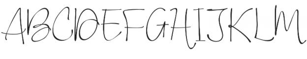 Vigetha otf (400) Font UPPERCASE