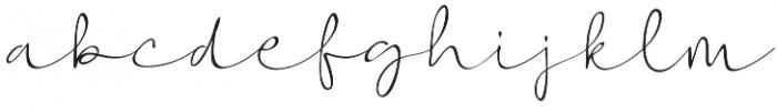 Vigetha otf (400) Font LOWERCASE