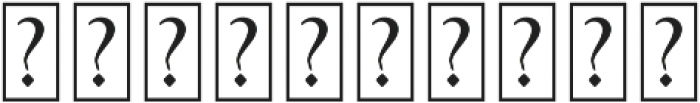Vignettic Dingbat otf (400) Font OTHER CHARS