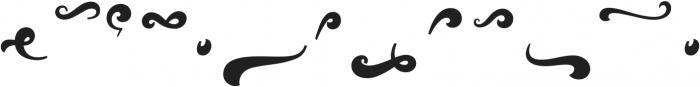 Vignettic Dingbat otf (400) Font LOWERCASE