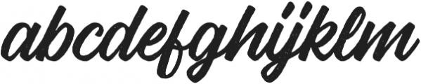 Vigrand Reg Aged otf (400) Font LOWERCASE