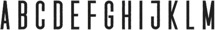Vigril Rugged Regular otf (400) Font UPPERCASE