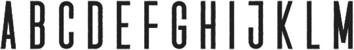 Vigril Rugged Regular otf (400) Font LOWERCASE