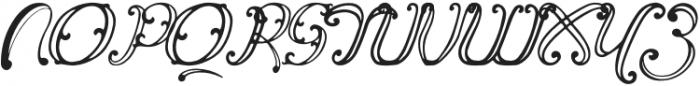 Vincicode otf (400) Font UPPERCASE