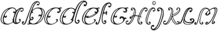 Vincicode otf (400) Font LOWERCASE