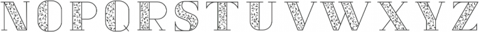 Vine And Branches Regular otf (400) Font LOWERCASE