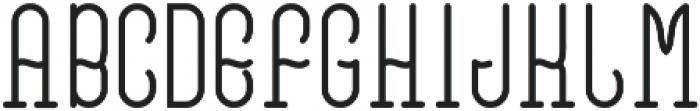 VinegarFont Regular otf (400) Font UPPERCASE