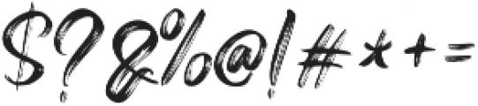 Vinegart otf (400) Font OTHER CHARS