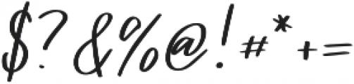 Vingiloth Regular otf (400) Font OTHER CHARS
