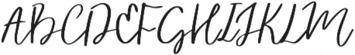 Vingiloth Regular otf (400) Font UPPERCASE