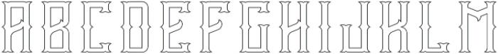 Vintage Age Ct-FX otf (400) Font UPPERCASE