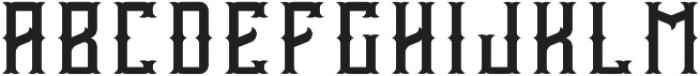 Vintage Age Regular otf (400) Font LOWERCASE