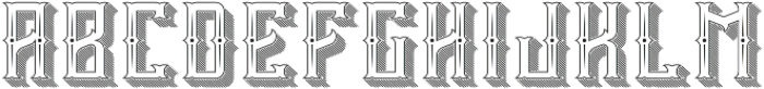 Vintage Age Sh-Ct-Tx-FX otf (400) Font UPPERCASE