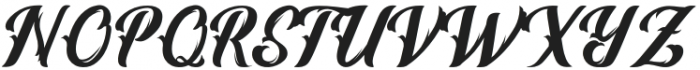 Vintage Melody otf (400) Font UPPERCASE