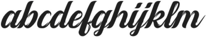 Vintage Melody otf (400) Font LOWERCASE