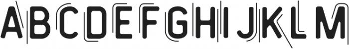 Vintage Modern Regular ttf (400) Font LOWERCASE