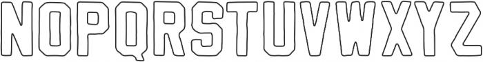 Vintage Varsity Stroke otf (400) Font LOWERCASE