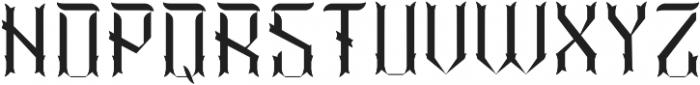 Vintage02 InlineFX otf (400) Font LOWERCASE