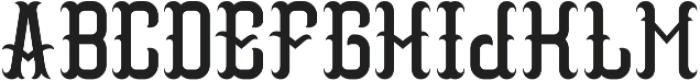 Vintage05 Regular otf (400) Font LOWERCASE