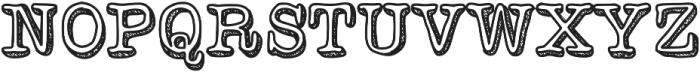 VintageOne ttf (400) Font UPPERCASE