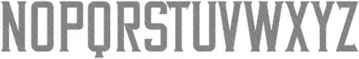 VintageWhiskey Striped otf (400) Font UPPERCASE