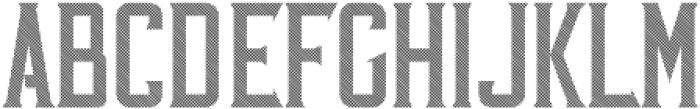 VintageWhiskey Striped otf (400) Font LOWERCASE