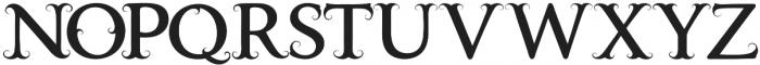 Vintageup UltBd otf (400) Font LOWERCASE
