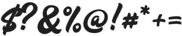 Vinyl Script otf (400) Font OTHER CHARS