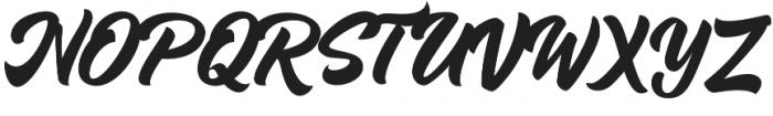 Vinyl Script otf (400) Font UPPERCASE