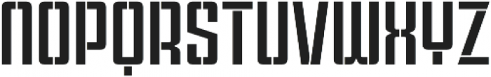 Violenta Stencil Regular otf (400) Font LOWERCASE