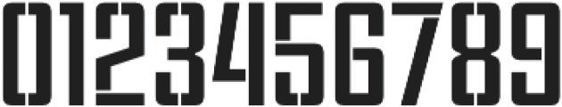 Violenta Stencil Unicase Regular otf (400) Font OTHER CHARS