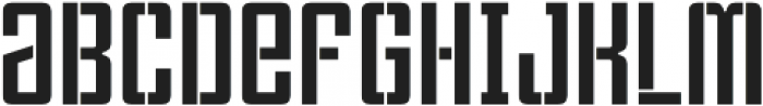 Violenta Stencil Unicase Regular otf (400) Font LOWERCASE