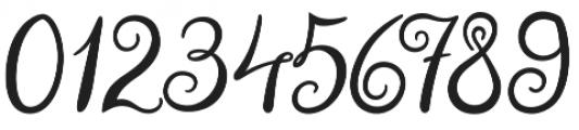 Violet Night otf (400) Font OTHER CHARS