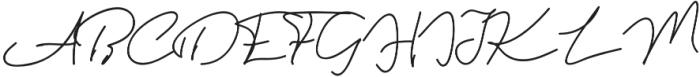 Violitta Minimalis otf (400) Font UPPERCASE