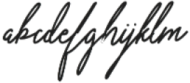 Violitta Minimalis otf (400) Font LOWERCASE