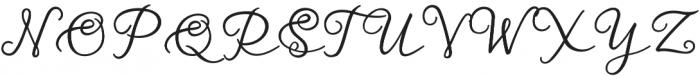 Virga Script otf (400) Font UPPERCASE