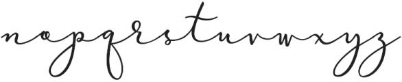 Virga Script otf (400) Font LOWERCASE