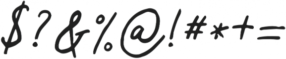 Virginal otf (400) Font OTHER CHARS